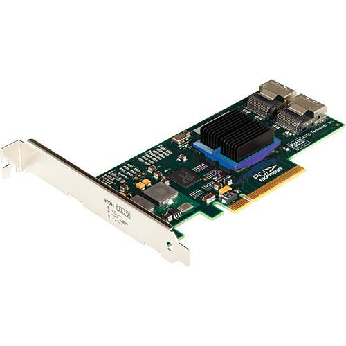 ATTO ExpressSAS H608 8-Internal Port SAS/SATA 6G PCIe x2 Host Bus Adapter