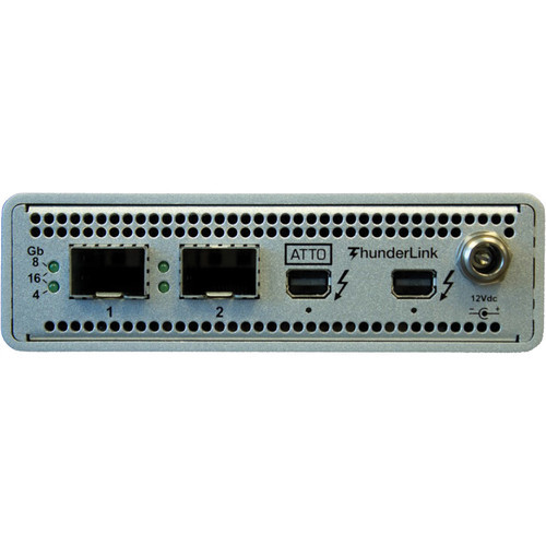 ATTO ThunderLink FC 2162 Thunderbolt 2 to 16 Gb/s Fibre Channel