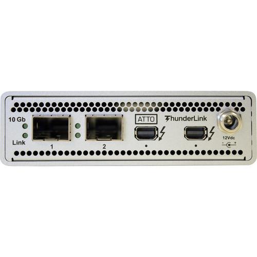 ATTO ThunderLink NS 2102 Thunderbolt 2 to 2-Port 10Gb Ethernet Adapter