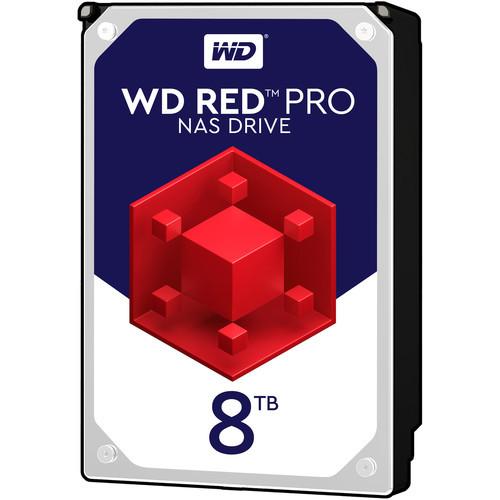 "Western Digital 8TB Red Pro 7200 rpm SATA III 3.5"" Internal NAS HDD (OEM)"