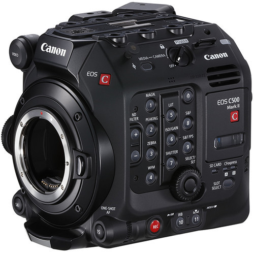 Canon Cinema EOS C500 Mark II 5.9K Full-Frame Camera Body (EF Mount)