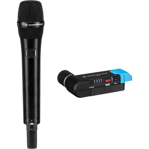Sennheiser AVX-835 Digital Camera-Mount Wireless Cardioid Handheld Microphone System