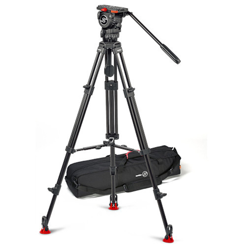 Sachtler 0773A Tripod System with FSB 8 Fluid Head, Aluminum Legs & Mid-Level Spreader