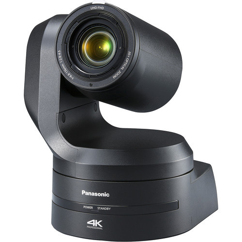 Panasonic UE150 4K 60P Pro 20x PTZ Camera with 12G-SDI, HDMI & Optical (Black)
