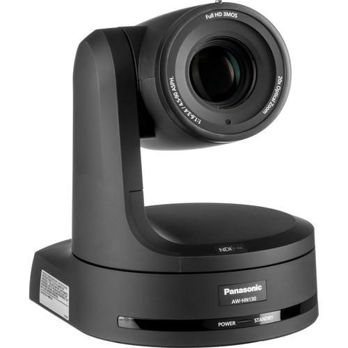 Panasonic HN130 HD 3MOS Pro 20x PTZ Camera with SDI, NDI & HDMI (Black)
