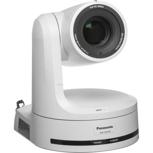 Panasonic HN130 HD 3MOS Pro 20x PTZ Camera with SDI, NDI & HDMI (White)