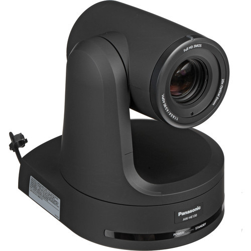 Panasonic HE130 HD 3MOS Pro 20x PTZ Camera with SDI & HDMI (Black)