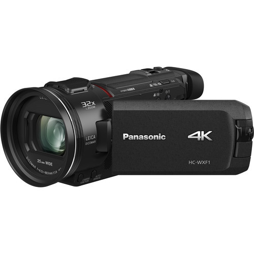 Panasonic HC-WXF1 4K Camcorder with Multi Cam Capture