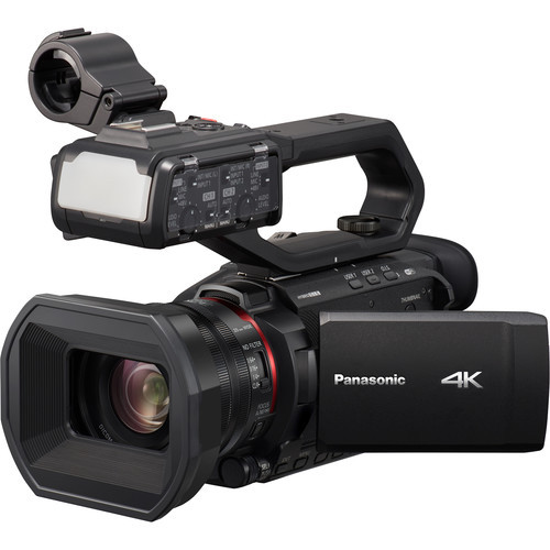Panasonic HC-X2000 4K 3G-SDI & HDMI Pro Camcorder with 24x Zoom
