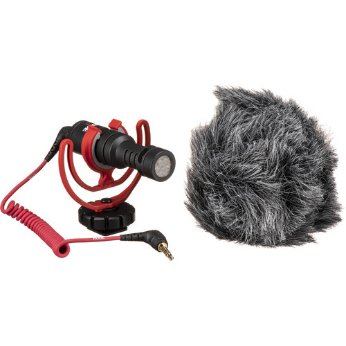 Rode VideoMicro Ultracompact Camera-Mount Shotgun Microphone