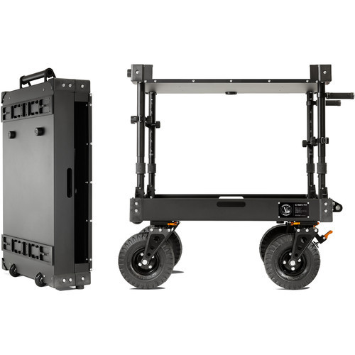 "Inovativ Voyager 36 Evo Cart with X-Top and 10"" Premium Tires"