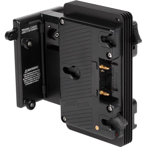 Wooden Camera - Arri Alexa LF 24V Sharkfin Battery Bracket (Gold Mount)