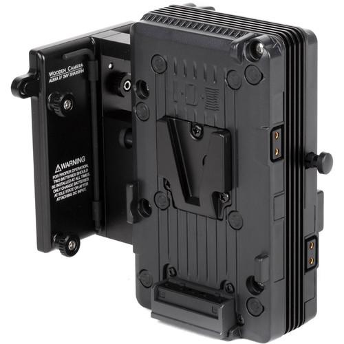 Wooden Camera - Arri Alexa LF 24V Sharkfin Battery Bracket (V-Mount)