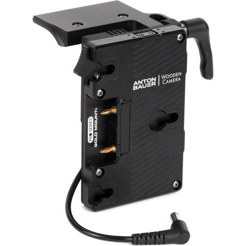 Wooden Camera Battery Slide Pro Gold Mount for Sony FX9