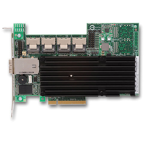 Studio Network Solutions PCIe RAID Controller with Mini-SAS (1 x External, 4 x Internal)