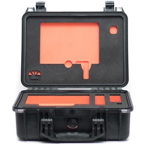 Bright Tangerine Pelican 1450 Case with Custom-Cut Foam for Misfit Atom Matte Box
