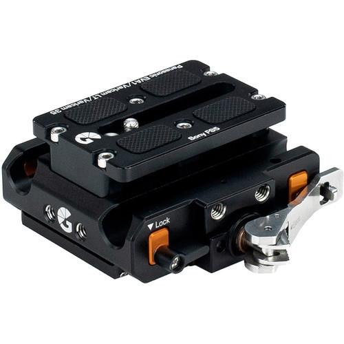 Bright Tangerine Left Field Quick Release Baseplate for Panasonic EVA-1 & Varicam LT/35