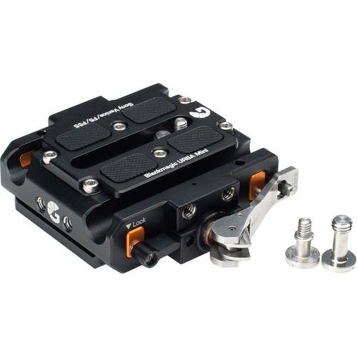 Bright Tangerine Left Field Quick Release Baseplate for BMD URSA Mini Pro/4.6K, Sony VENICE/F5/F55