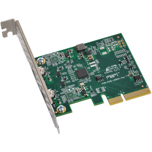 Sonnet Allegro 2-Port USB 3.1 Gen 2 Type-C PCIe 3.0 Card