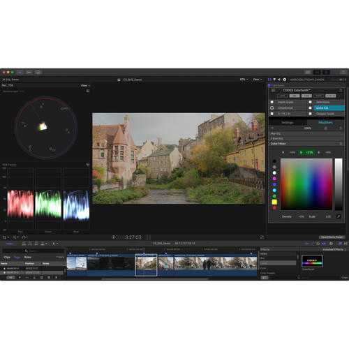 Codex ColorSynth for FCPX