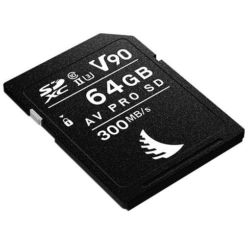 Angelbird 64GB AV Pro Mk 2 UHS-II SDXC Memory Card
