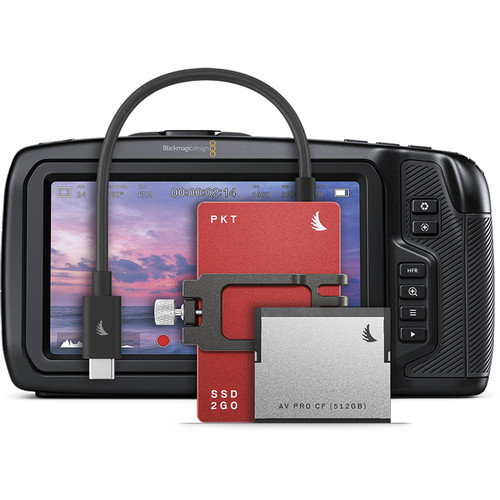 Angelbird 1.512TB Match Pack for Blackmagic Pocket Cinema Camera 6K (Red)