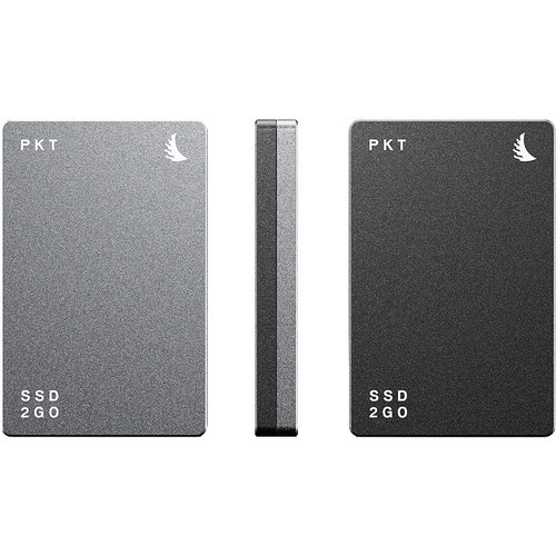 Angelbird 1TB SSD2GO PKT MK2 External SSD (Graphite Gray)