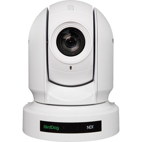 BirdDog P400 4K 10-Bit Full NDI PTZ Camera With Sony Sensor (White)