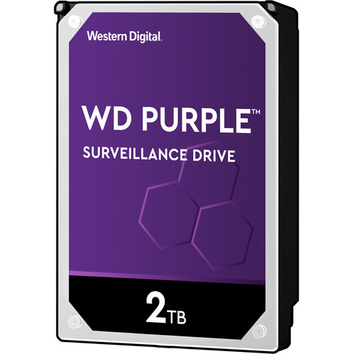 "Western Digital 2TB Purple 5400 rpm SATA III 3.5"" Internal Surveillance Hard Drive (OEM)"