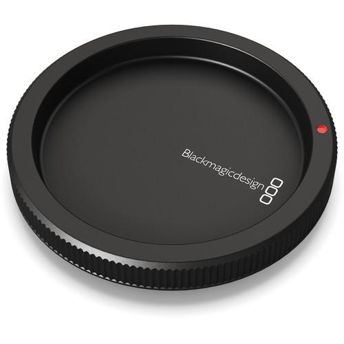 Blackmagic Design Replacement Body Cap for Select Blackmagic Design Cameras with EF Mount