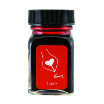 Monteverde USA Emotions 30ml Gratitude Love Red Ink Bottle