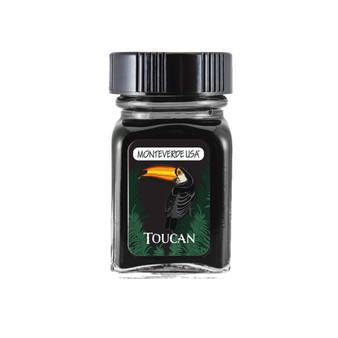 Monteverde USA® Jungle Ink Collection™ Bottle Ink 30 ml Toucan (Black)
