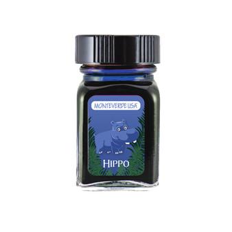 Monteverde USA® Jungle Ink Collection™ Bottle Ink 30 ml Hippo (Dark Blue)