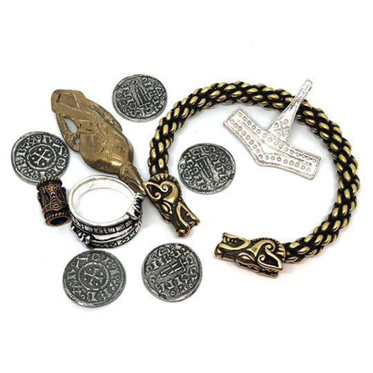 Replica Viking Jewelry and Coins