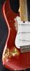 Friedman Vintage S AMDBCGPSSS-H Aged Candy Apple Red over Gold Burst