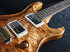 Preowned PRS Paul Reed Smith Custom 24 Semi Hollow Wood Library Copperhead