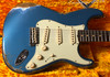 Fender Custom Shop 1959 Stratocaster Heavy Relic Electric Guitar Aged Lake Placid Blue