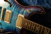 PRS Wood Library 594 Semi Hollow Aquabluex Purple Burst w/ Matching Maple Neck