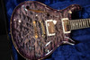 PRS Wood Library 594 Semi Hollow Charcoal Purple Burst Rosewood Neck