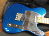Fender  J MASCIS TELECASTER® Blazing Bottle Rocket Blue Flake
