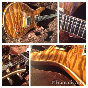 PRS Private Stock 4743 Modern Eagle BRW Neck and Proto 85~15 Pickups SOLD