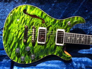 PRS Wood Library 594 Semi Hollow Jade Green with Rosewood Neck