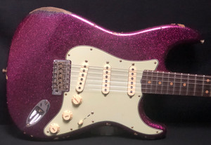 Fender Custom Shop '61 Relic Stratocaster Magenta Sparkle Built for NAMM 2020