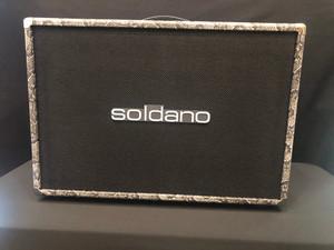 Soldano 2 x 12 Exotic Snake Skin Cabinet