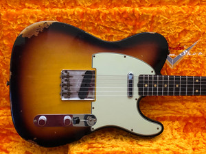 Fender Custom Shop 1961 Telecaster Custom Shop Relic 3 Tone Sunburst