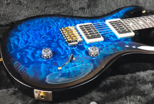 PRS Paul Reed Smith Custom 24 2021 Sapphire Smokeburst 10 Top Quilt with Hybrid Hardware