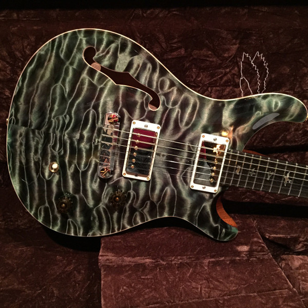 PRS Paul Reed Smith Private Stock 2013 McCarty Semi Hollow Olive Quilt SOLD