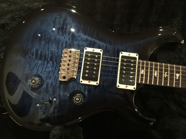 PRS Paul Reed Smith CU24 Custom Color Whale Blue Smokeburst Non 10 Top