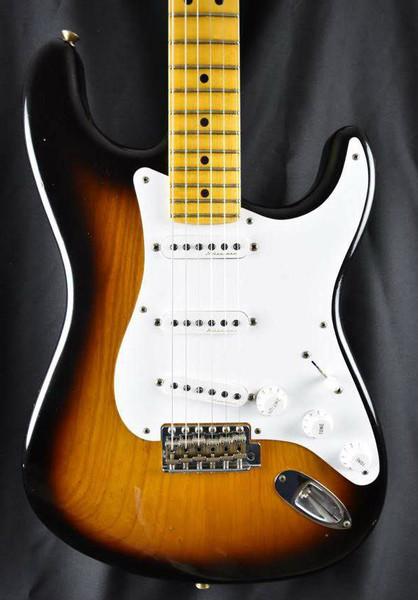 Fender Custom Shop Eric Clapton Signature Stratocaster Journeyman Relic 2 Tone Sunburst