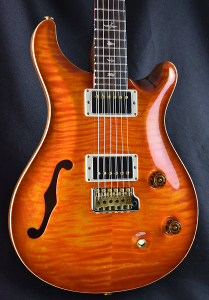 PRS Wood Library Custom 22 Semi Hollow Solona Burst